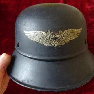 casque Luftschutz militaria allemand