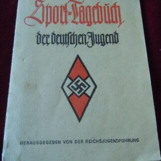 sport tagebuch - militaria allemand