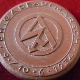 médaille de table SA - militaria allemand