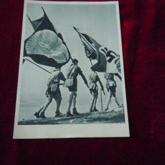carte postale HJ - militaria allemand