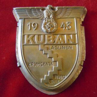 kuban shield - militaria allemand