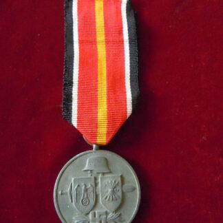 médaille division azul - militaria allemand