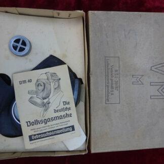 masque à gaz - militaria allemand