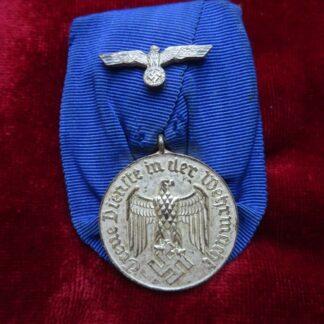 médaille 4 ans service - militaria allemand