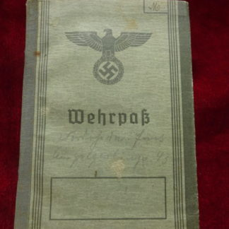 wehrpas - militaria allemand