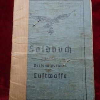 soldbuch Luftwaffe - militaria allemand