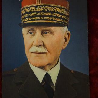 Portrait Maréchal Pétain - Militaria