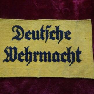 brassard Deustche Wehrmacht - militaria
