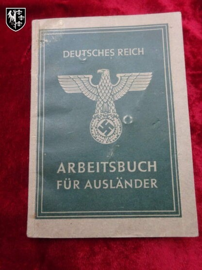 Arbeitsbuch - militaria allemand