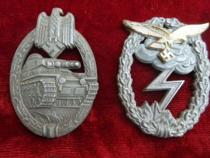 badge panzer militaria allemand