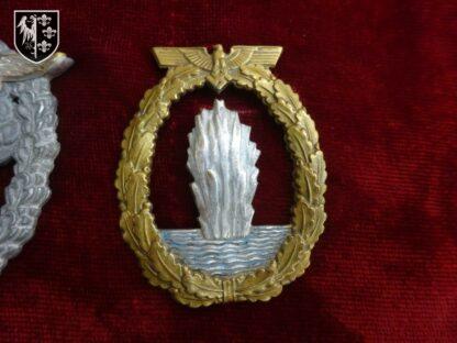 badge kriegsmarine militaria allemand