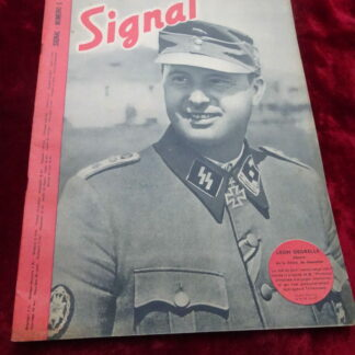 Revue Signal - Léon Degrelle