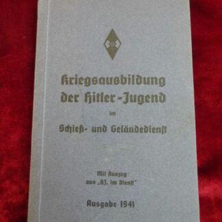 document Hitlerjugend Militaria allemand